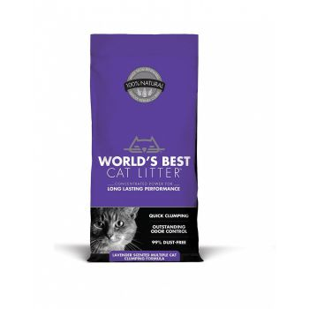 WBCL Cat Litter Scented Multiple Cat Clumping 7.0 Lbs