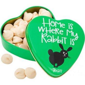 Sanal Rodent Yoghurt Drops Heart Tin, 60g