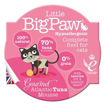 Little Big Paw Cat Wet Food Gourmet Tuna Mousse
