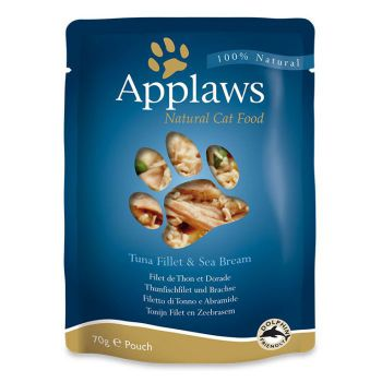 Applaws Cat Wet Food Tuna with Seabream 70g Pouch
