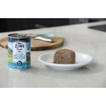 ZiwiPeak Mackerel & Lamb Recipe Canned Dog Food 390g