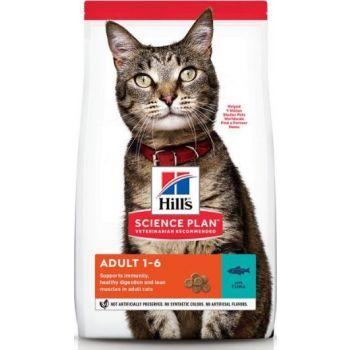 Hill's Science Plan Adult Tuna Dry Cat Food 1.5kg
