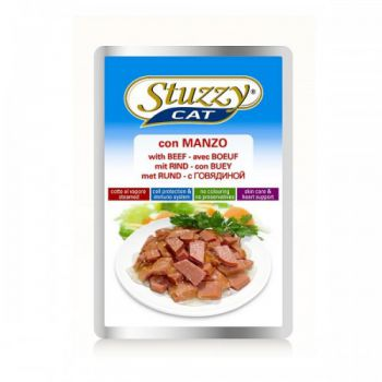 STUZZY CAT POUCH BEEF 100GM (C2402)