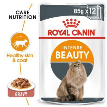 Royal Canin Cat Wet Food Intense Beauty (pouches)85G