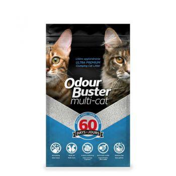 Odour Buster Multi Cat Clumping Litter 12kg