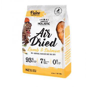 Absolute Holistic Air Dried Cat Diet - Lamb & Salmon 500g