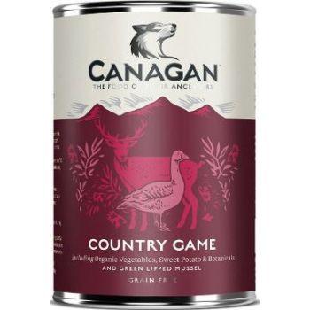 Canagan Country Game Dog Tin Wet Food 400G
