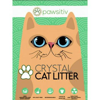 Pawsitiv Silica Crystal Cat Litter 16L Rose