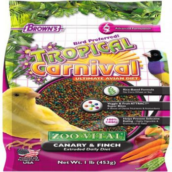 BROWNS CANARY&FINCH FOOD 453GM