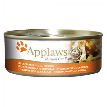 Applaws Cat Wet Food Chicken with Pumpkin 156g Tin