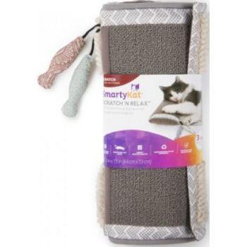 SmartyKat® ScratchNRelax™ Cat Scratcher Mat And Lounge