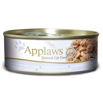 Applaws Cat Wet Food  Tuna with Cheese 156g Tin