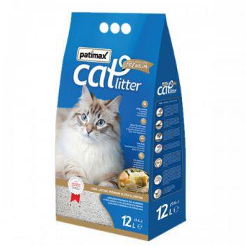 Patimax Cat Litter Clumping Sand 12L (SOAP FRAGNANCE) 9.6KG