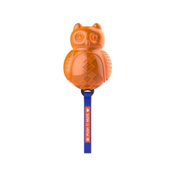 Gigwi Owl push To Mute soild/transparent blue/orange