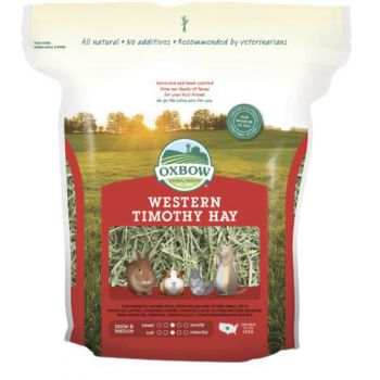 Oxbow Western Timothy Hay for Small Animals, 15 Oz