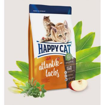 Happy Cat Adult Atlantik-Lachs  (Atlantic Salmon) - 12 KG