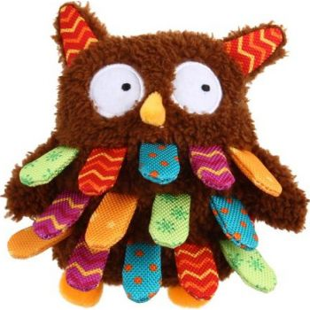 Dog Toys Owl Plush Friendz with squeaker