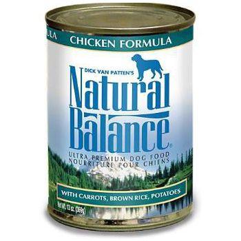 Natural Balance Ultra Premium Chicken Canned Dog Formula 13oz X ( 12 PCS )