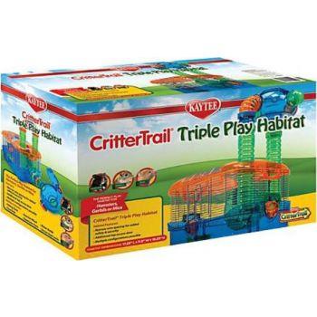 Kaytee Crittertrail Triple Play Habitat