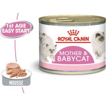 Royal Canin WET FOOD - Babycat Instinctive (cans)