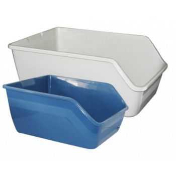 Pawise High-Back Cat Litter Pan Large, 61x45x25 cm
