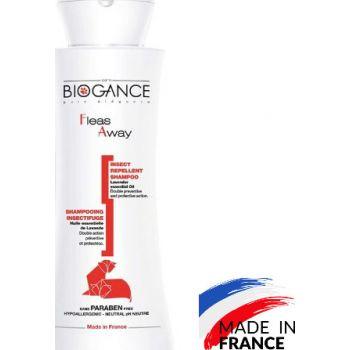 Biogance Fleas Away Cat Shampoo, 250 ml