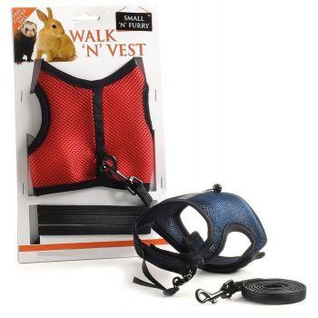 Sharples 'N' Grant S&F Walk N Vest N Leash, Medium