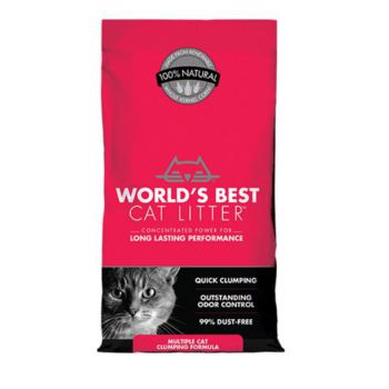 WBCL Cat Litter Multiple Cat Clumping 7.0 lb Bag