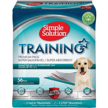 Simple Solution Training Pads -(56 pads) 21.5 x 22 Inches