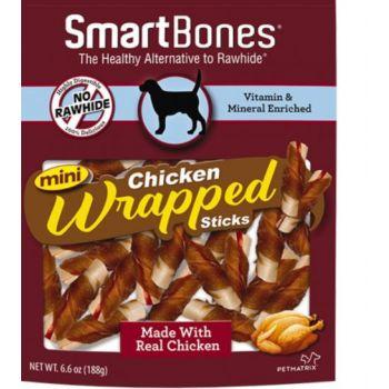 SmartBones Chicken Wrap- Mini Sticks Chicken 9 Pk