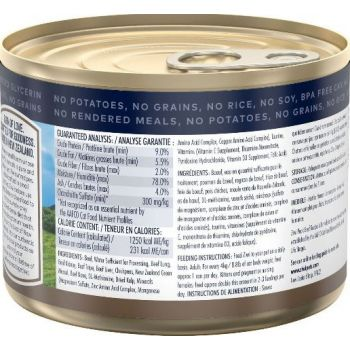 ZiwiPeak Beef Recipe Canned Cat Food 185g