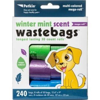 Petkin Winter Mint Waste Bags - 240c