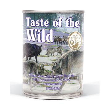Taste Of The Wild Wet Dog Food Sierra Mountain Canine 375gr