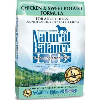 Natural Balance LID Chicken & Sweet Potato Formula Dry Dog Food 26lbs