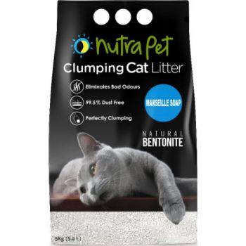 Nutrapet Marsiella Soap White Compact Cat Litter Clumping 5KG
