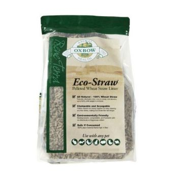 Oxbow Eco-Straw Pelleted Wheat Straw Litter, 8 Lb