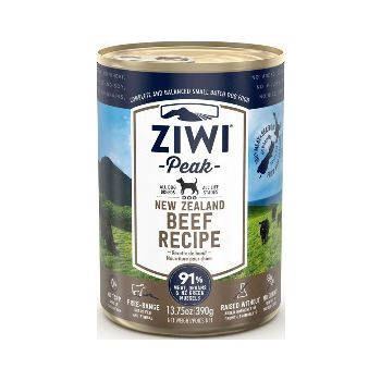ZiwiPeak Beef Recipe Canned Dog Food 390g