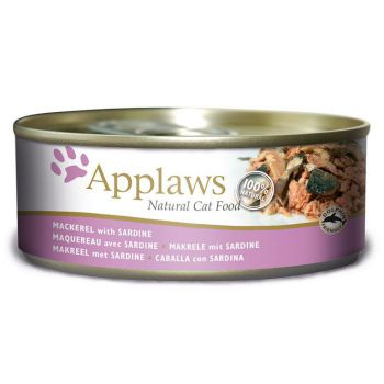 Applaws Cat Wet Food Mackerel with Sardine 156g Tin