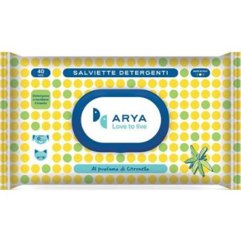 Arya Wet Wipes Lemongrass