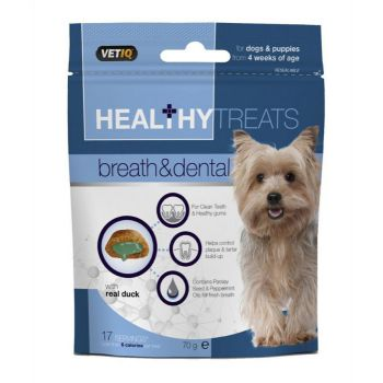 M&C Healthy Treats Breath & Dental Dog Treat