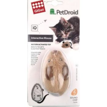 Gigwi Petdroid Mouse Electric/Interactive Cat Toy