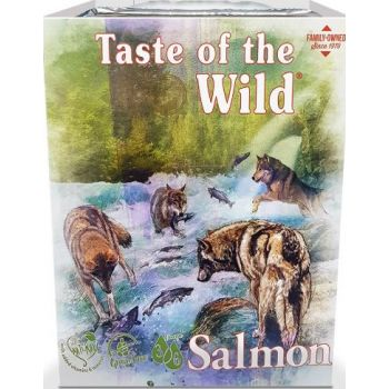 Taste Of The Wild Wet Food SALMON Fruit & Veg Tray 390G