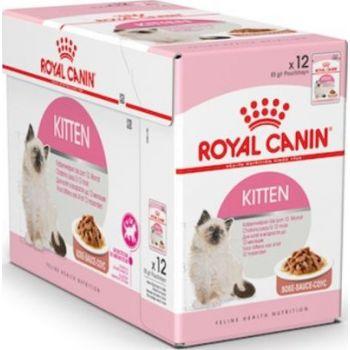 Royal Canin Cat WET FOOD - KITTEN INSTINCTIVE box of 12x85g