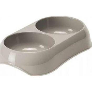 MODERNA GUSTO FOOD BOWL 2x200ML BA10 (Grey)