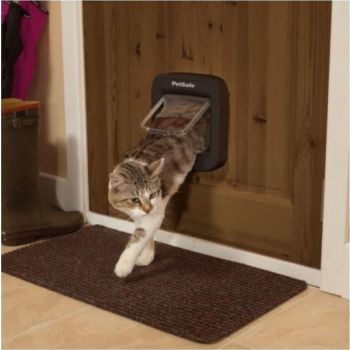 Pet Safe Microchip Cat Flap - Brown-2019 Model