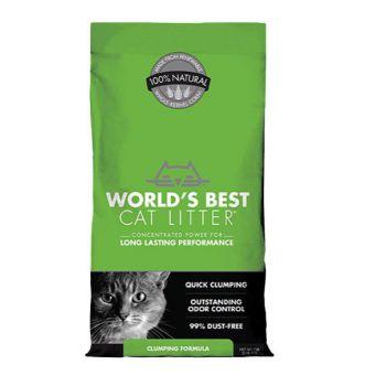 World's Best Cat Litter Clumping, 8 lbs