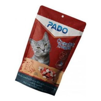 PADO CRUNCHY CAT TREATS DUCK 100G