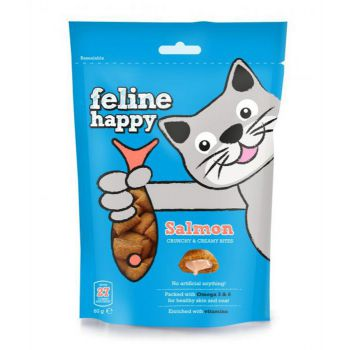 M&C Feline Happy Treats Salmon