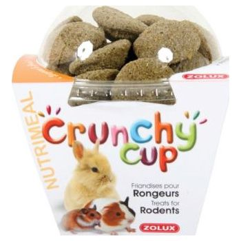 CRUNCHY CUP RODENT TREATS - LUCERNE & PARSLEY