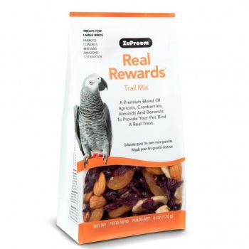 Real Reward Large Parrot Treats - Trail Mix 170g
